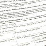 Medicaid application