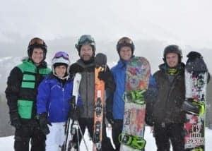 Siebert family ski Breck