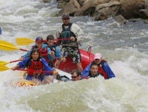 siebert whitewater rafting