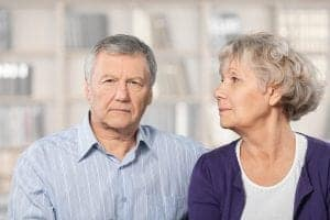 Worried Couple Alzheimer's Disease Dementia need Alzheimer's & Dementia Asset Protection Planning