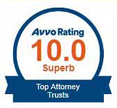 Avvo Top Attorney 10 out of 10 Superb Trusts Attorney James C. Siebert