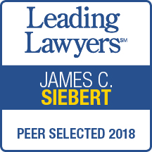 James C Siebert named 2018 Leading Lawyer, top 5% lawyers in Illinois